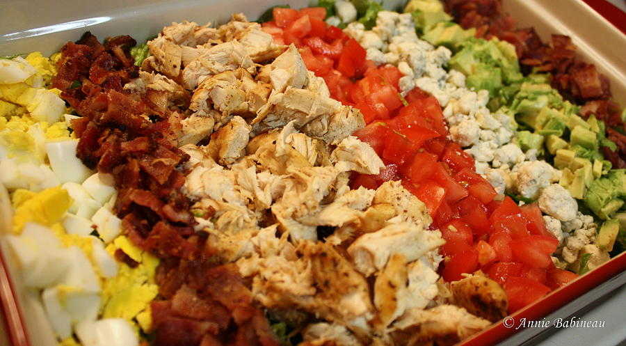 Cobb Photograph - Cobb Salad by Anne Babineau