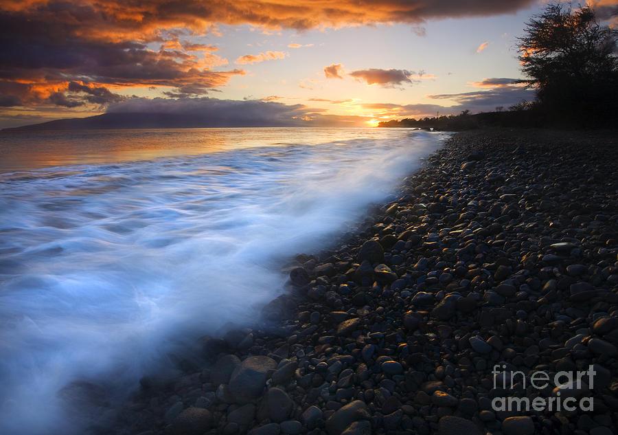 Sunset Photograph - Cobblestone Sunset by Mike  Dawson