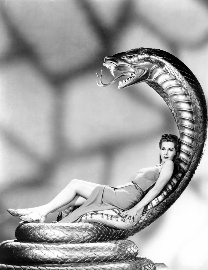 1940s Movies Photograph - Cobra Woman, Maria Montez, 1944 by Everett