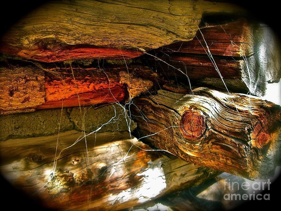 Old Barns Photograph - Cobwebs by Tina Slee