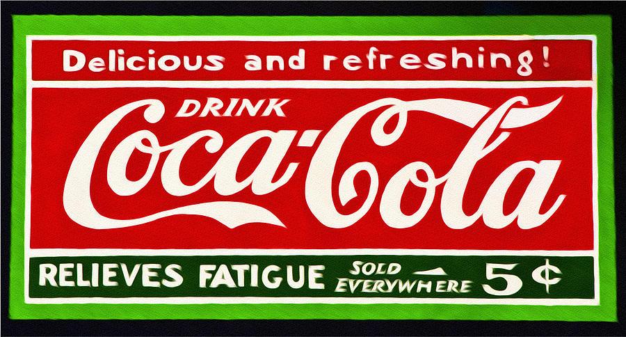 Coke Photograph - Coca-cola  Relieves Fatigue by Bill Cannon