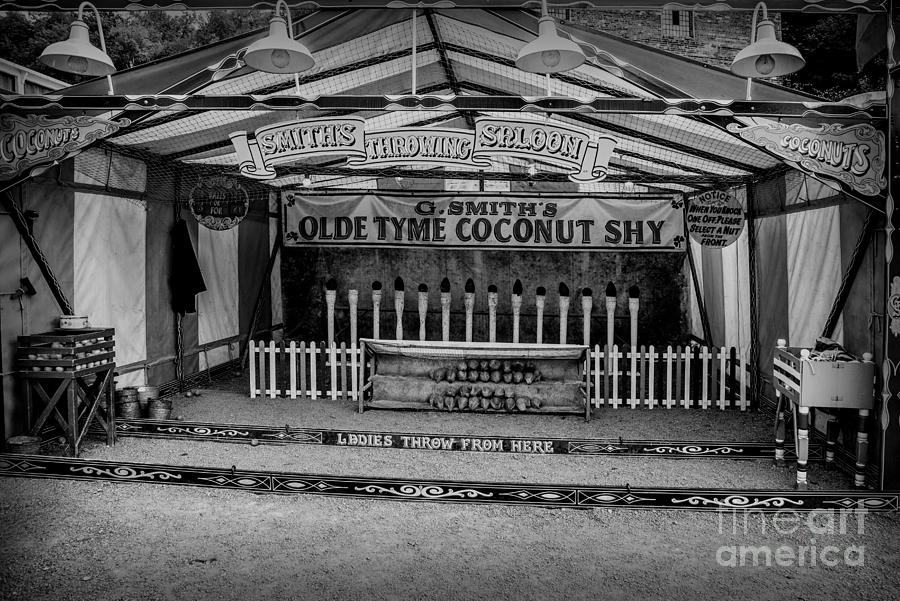 British Photograph - Coconut Shy 2 by Adrian Evans