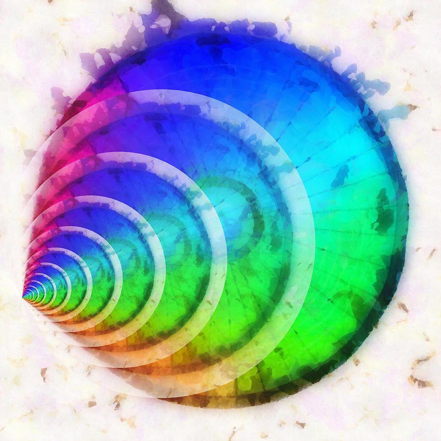 Code Digital Art - Code Of Colors 9 by Angelina Vick