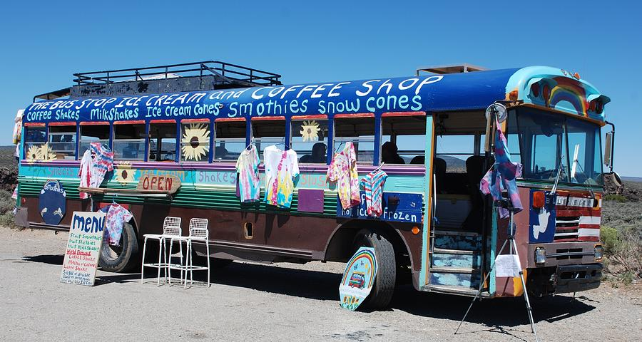 Bus Photograph - Coffee Bus by Dany Lison