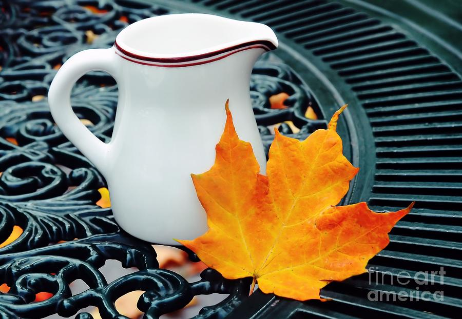 Coffee Photograph - Coffee Cream by Elaine Manley