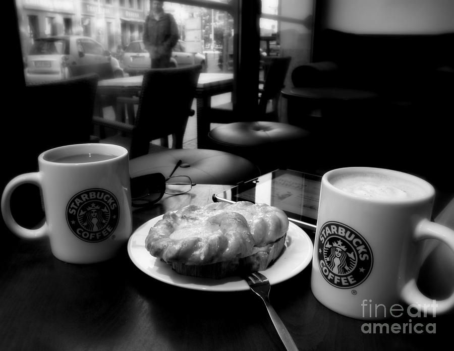 Coffee Photograph - Coffee In Berlin  2 by Tanya  Searcy