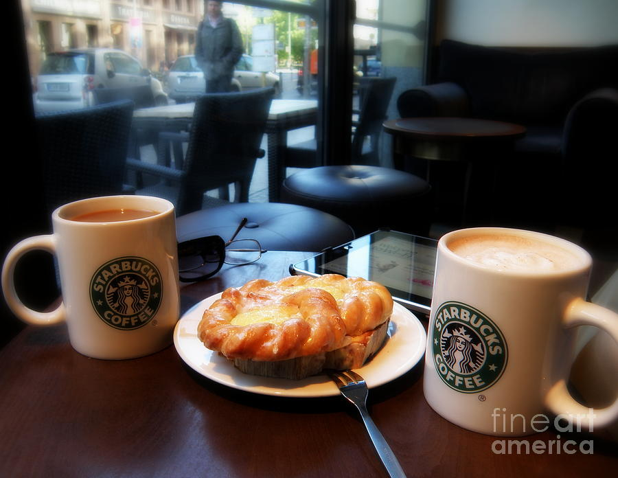 Coffee Photograph - Coffee In Berlin by Tanya  Searcy