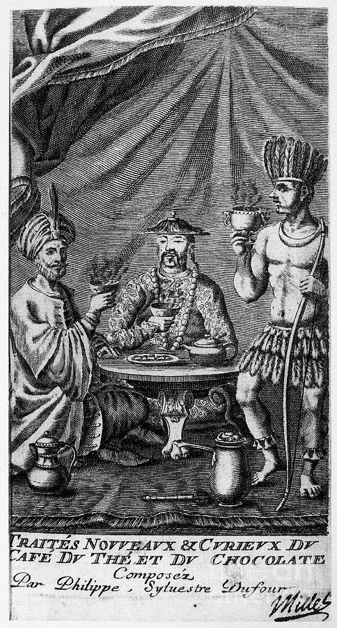1685 Photograph - Coffee, Tea & Chocolate, 1685 by Granger