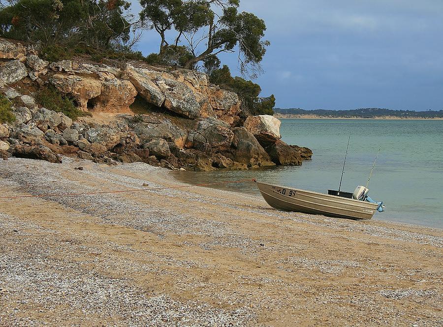 Australian Landscape Photograph - Coffin Bay Np by David Barringhaus