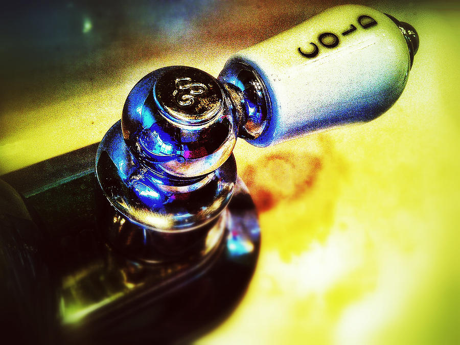 Faucet Photograph - Cold by Olivier Calas