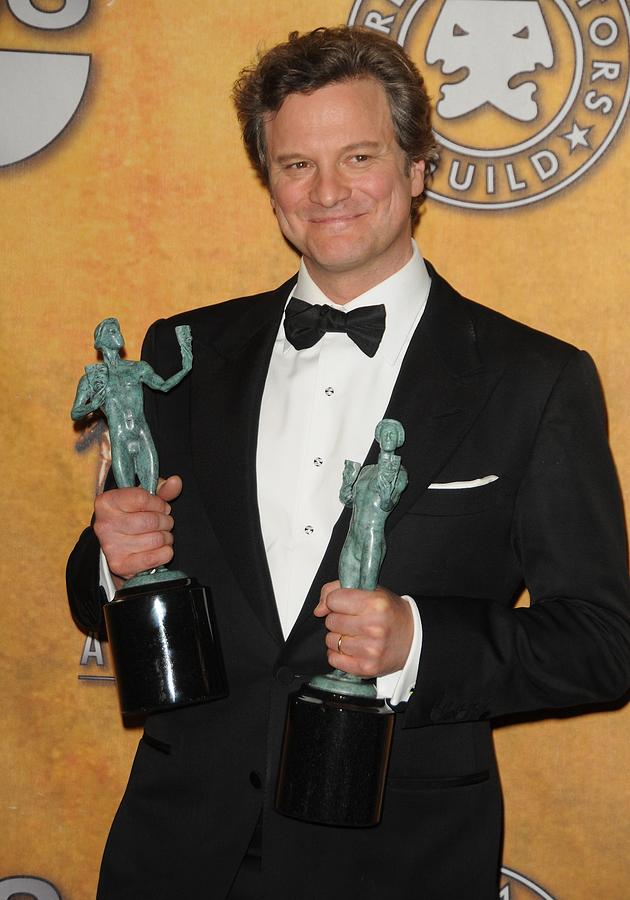 Colin Firth Photograph - Colin Firth In The Press Room For 17th by Everett