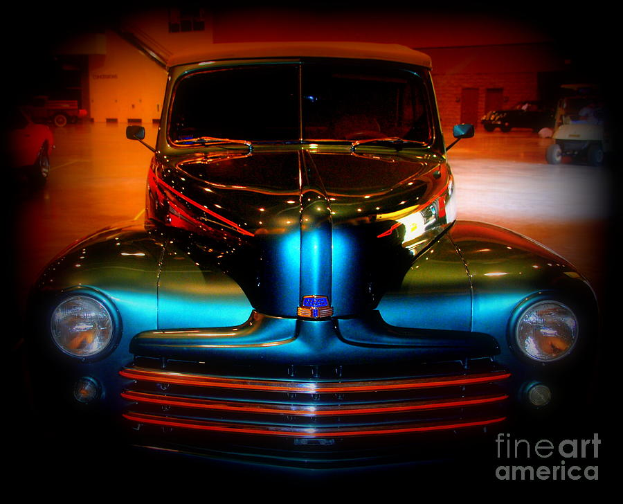 Dodge Photograph - Collector Car by Susanne Van Hulst