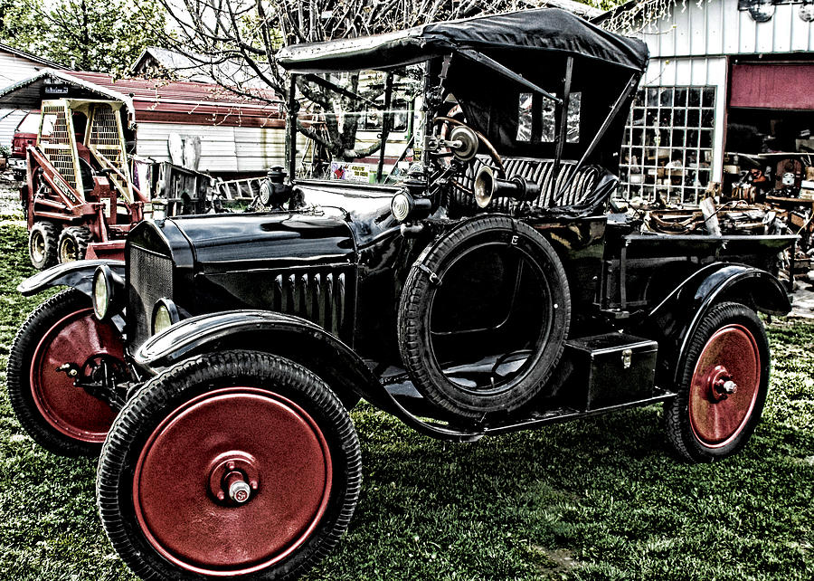 Ford Model T Photograph - Collectors Dream by Kristie  Bonnewell