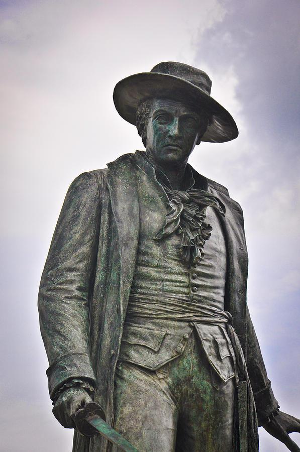 Pepperell Photograph - Colonel William Prescott by Erica McLellan