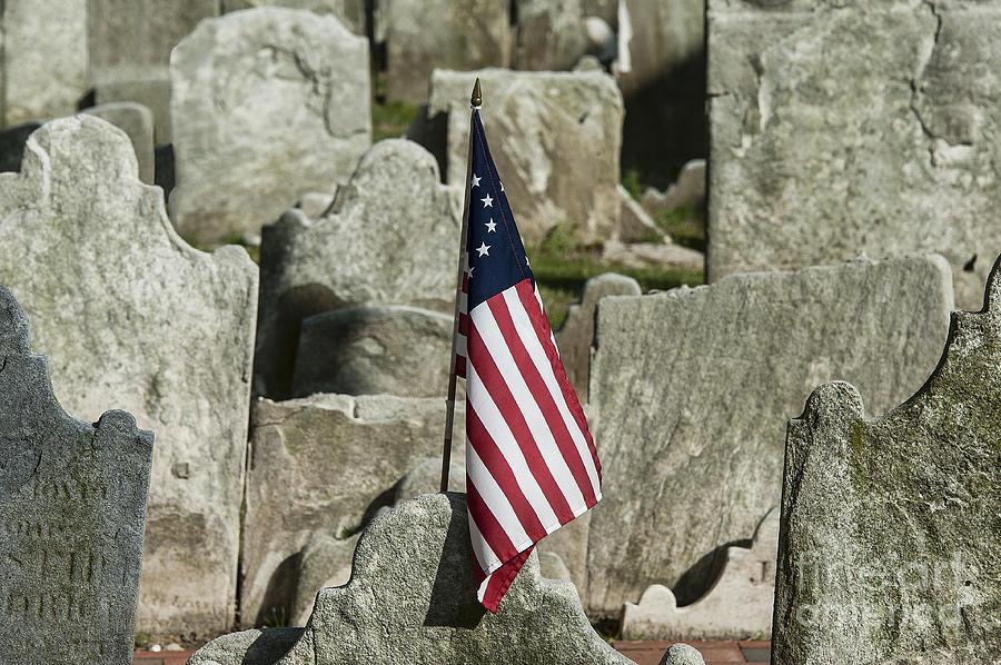 Americana Photograph - Colonial Cemetery by John Greim