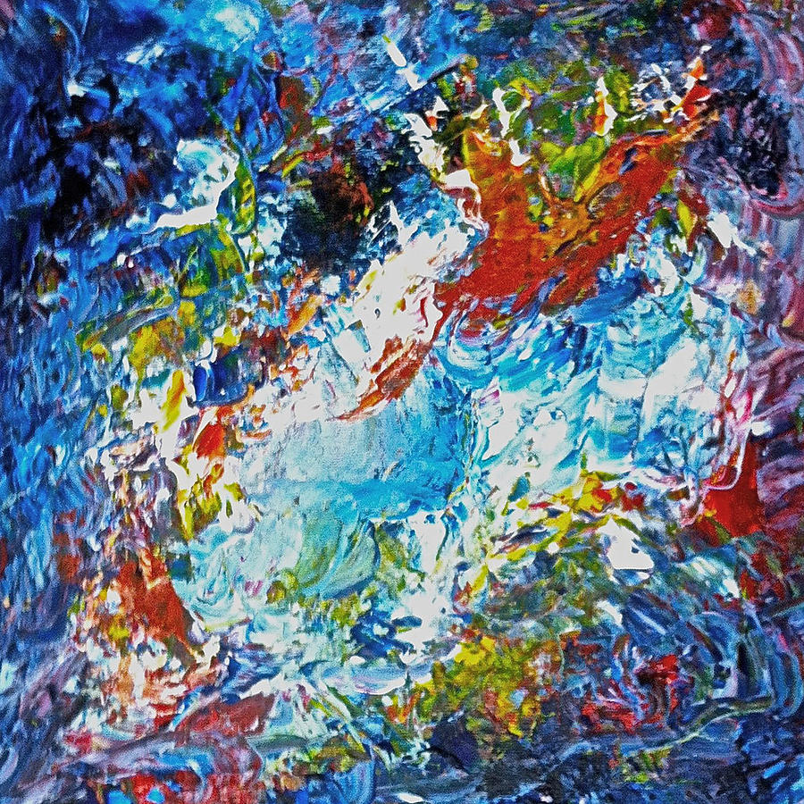 Abstract  Painting - Color Explosion No Fifty Six  by Ten Eyck Hunt