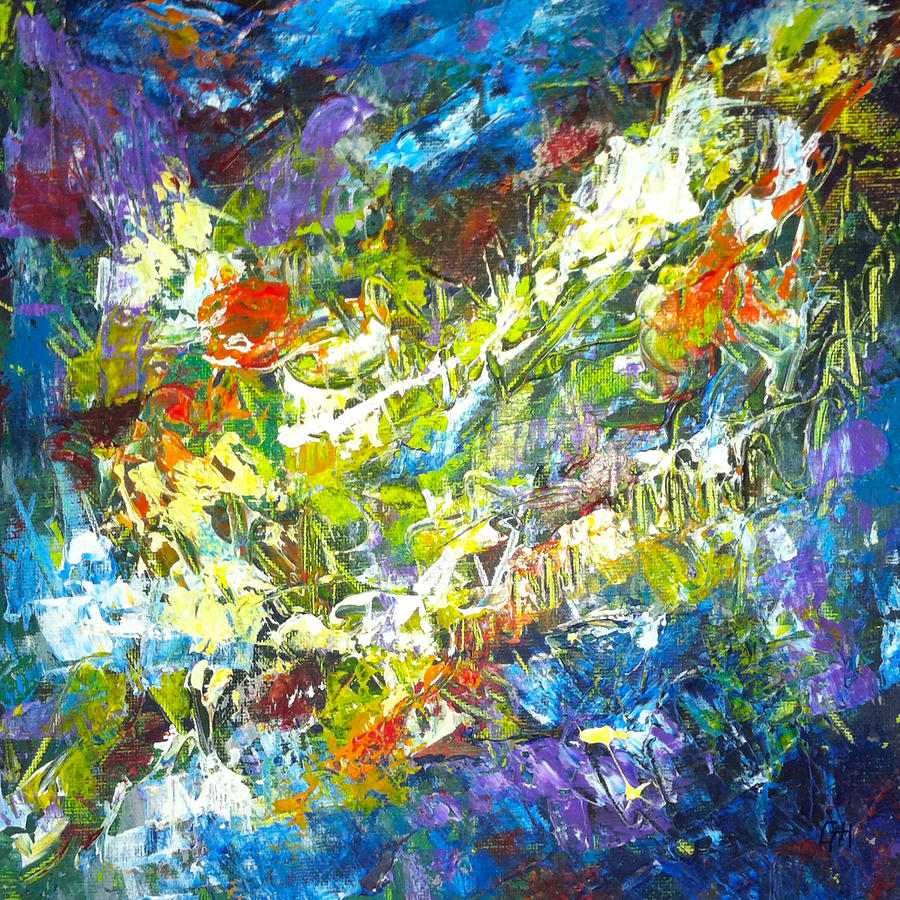 color explosion no sevetytwo painting by gretchen ten eyck hunt