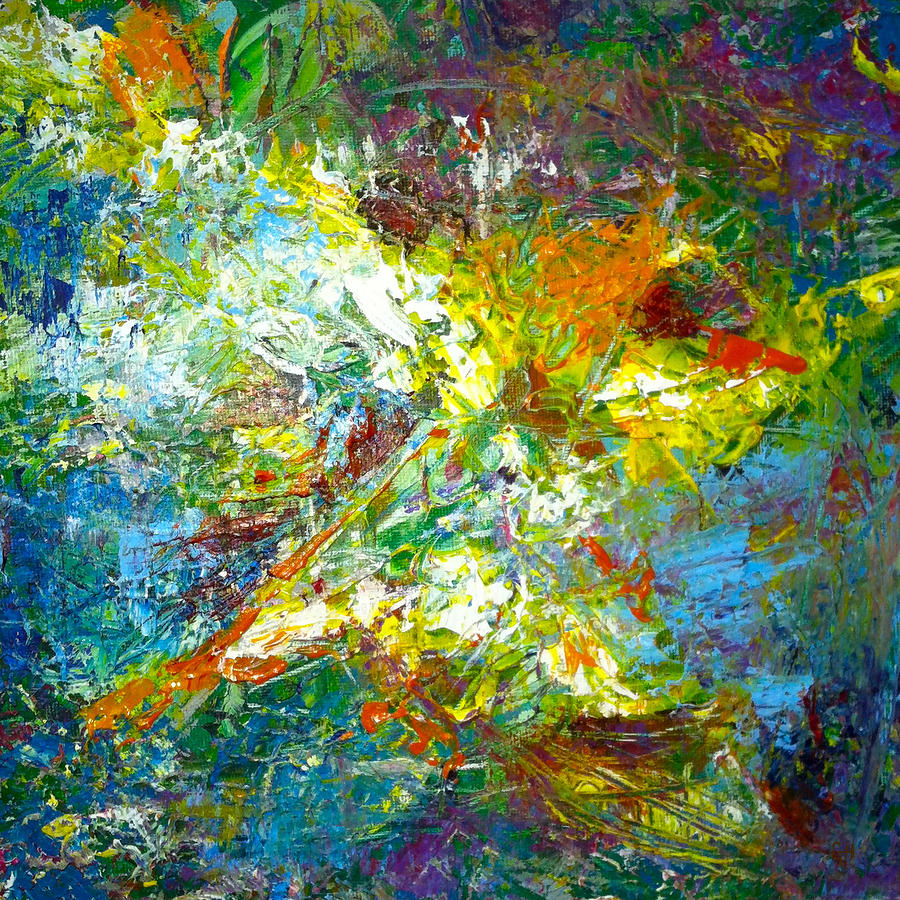 color explosion seventy painting by ten eyck hunt