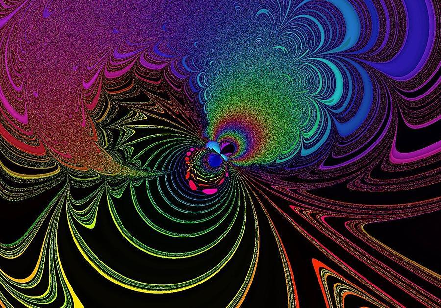 Color Digital Art - Color Image by Mozhgan Vakili