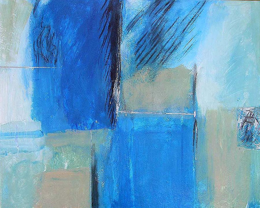 Abstract Painting - Color Planes Three by Clint Lochridge