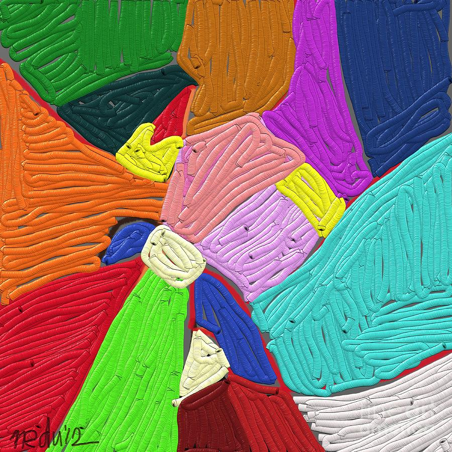 Color Painting - Color Tectures by Nedunseralathan R