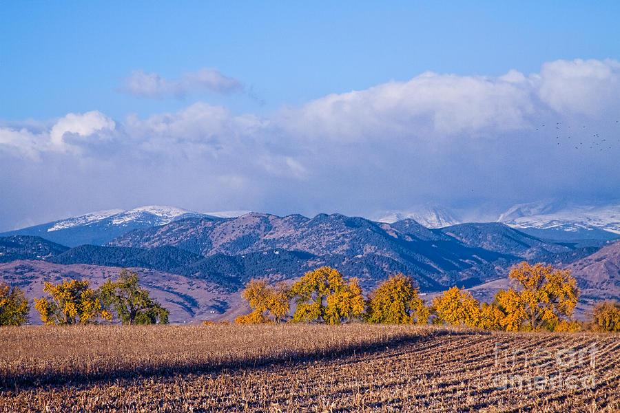 Autumn Photograph - Colorado Autumn Morning Scenic View by James BO  Insogna