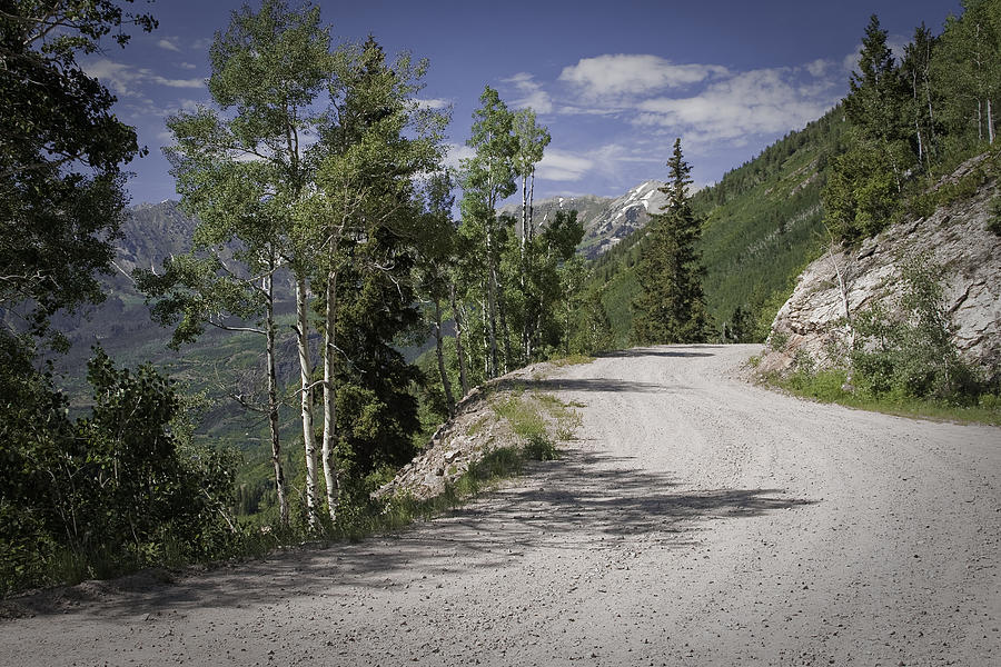 Marble Photograph - Colorado Backroads by Graham Hughes
