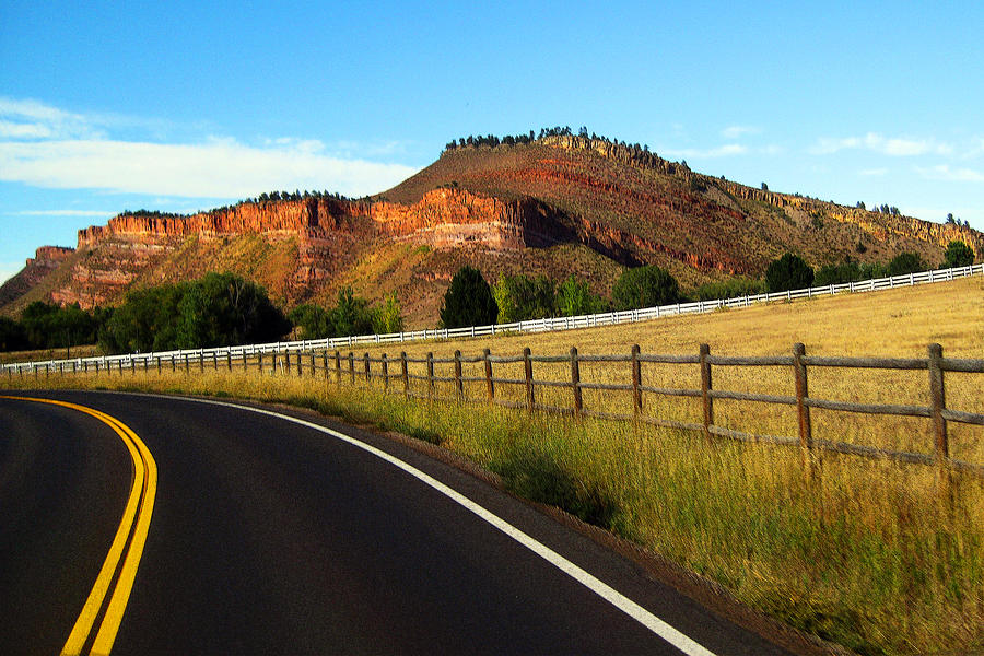 Colorado Photograph - Colorado Curve by Ric Soulen