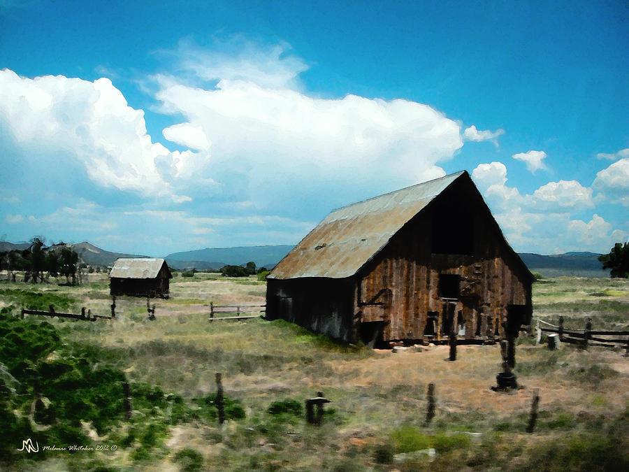 Landscape Photograph - Colorado Farm by Melanie Whitaker
