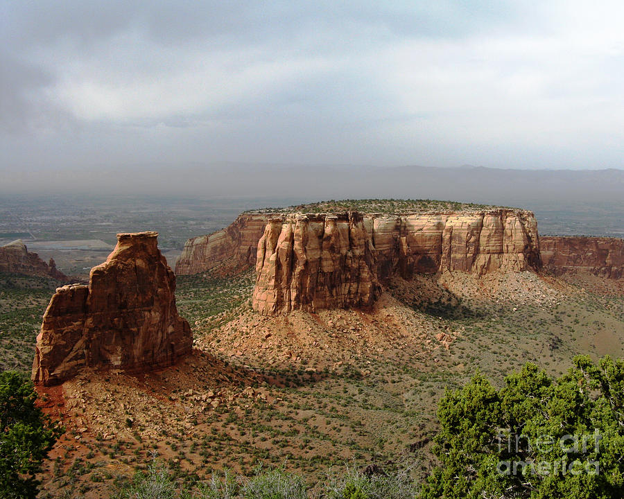 Colorado Photograph - Colorado National Monument by Patricia Januszkiewicz