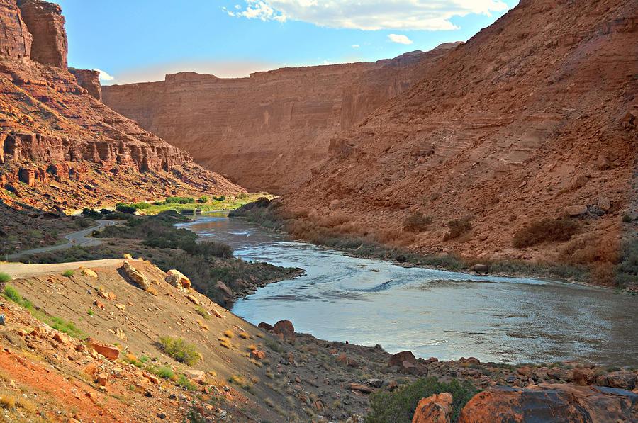 Colorado Photograph - Colorado River Canyon 1 by Marty Koch