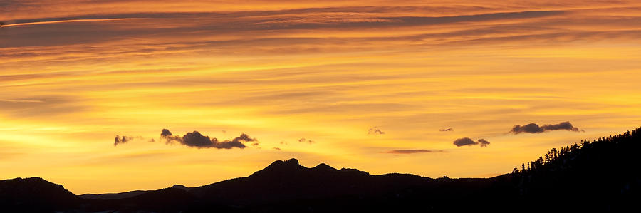 Colorado Photograph - Colorado Sunrise Landscape by Beth Riser