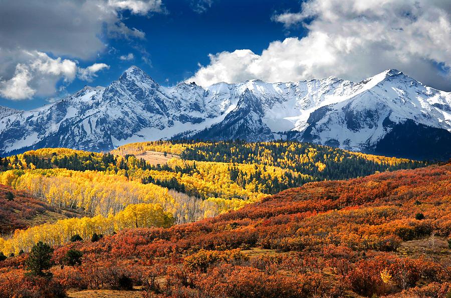 Colorado 39 s san juan mountains photograph by peter kunasz for The range wallpaper sale
