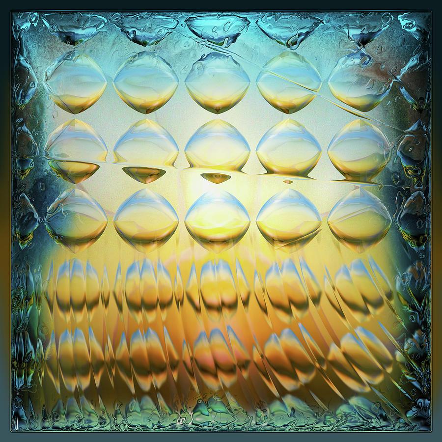 Colorful Digital Art - Colorbulbs by Li   van Saathoff