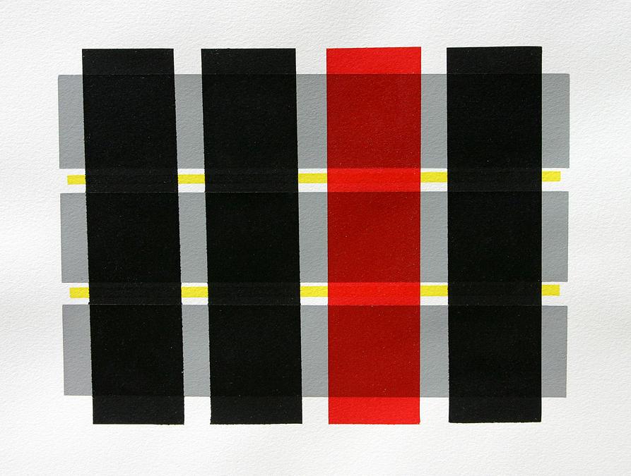 Original Relief - Colored Bars by Scott Shaver