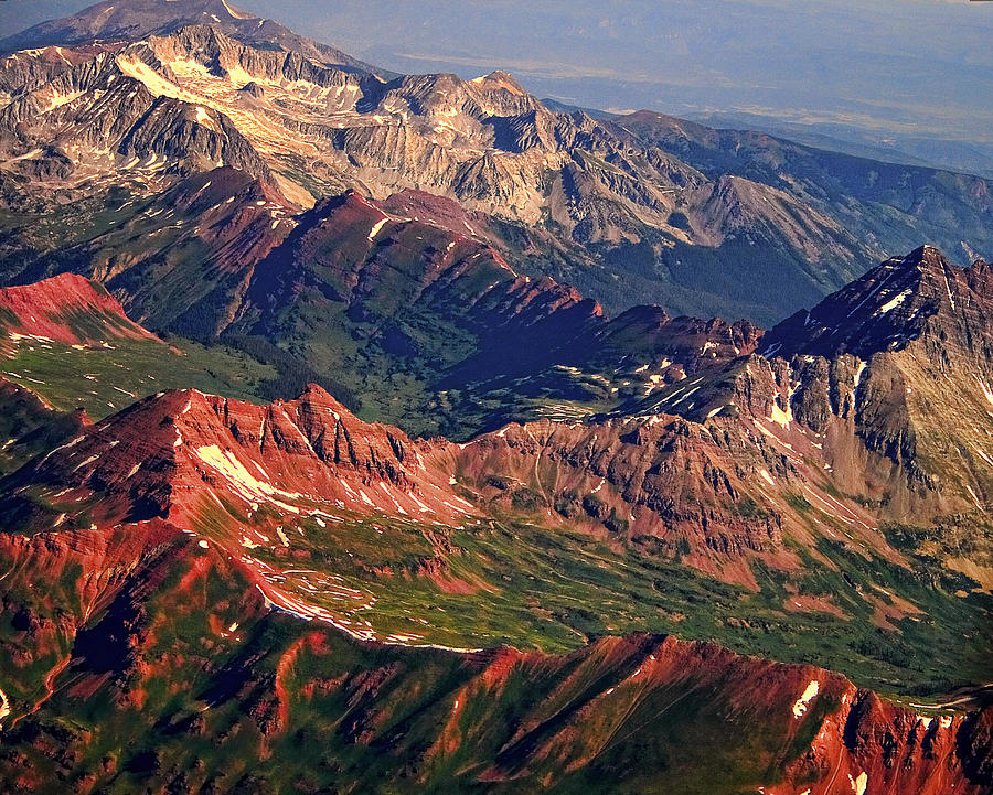 Colorful Photograph - Colorful Colorado Rocky Mountains Planet Art by James BO  Insogna