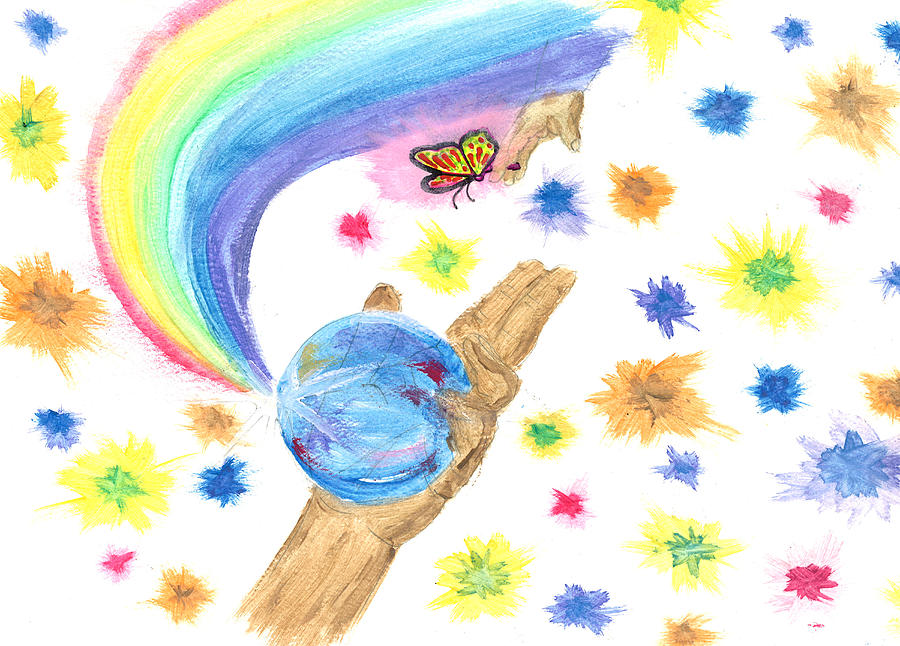 Colorful Journey Drawing by Harry Richards