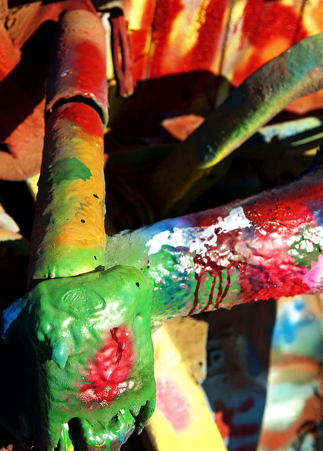 Car Photograph - Colorful  by Malania Hammer