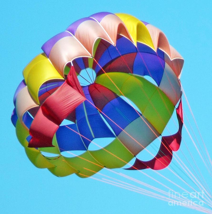 Colorful Parachute Pho...