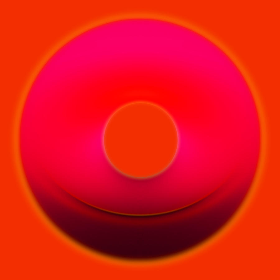 Contemporary Digital Art - Colors 09 by Li   van Saathoff