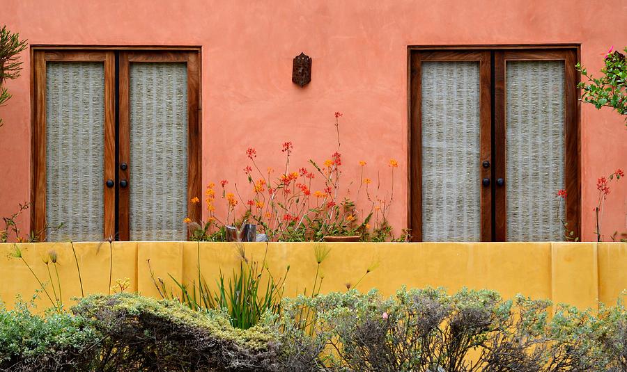 Warm Colors Photograph - Colors Of Santa Fe by Fraida Gutovich