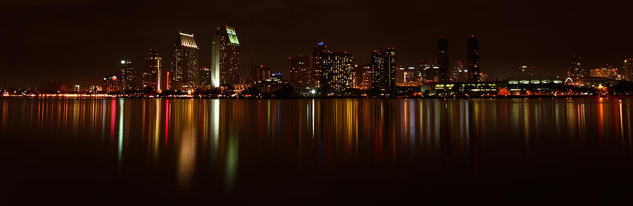 Cityscape Photograph - Colors Of The Night by Olga Vlasenko