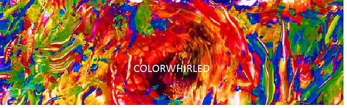 Abstract Digital Art - Colorwhirled by Dan Cope