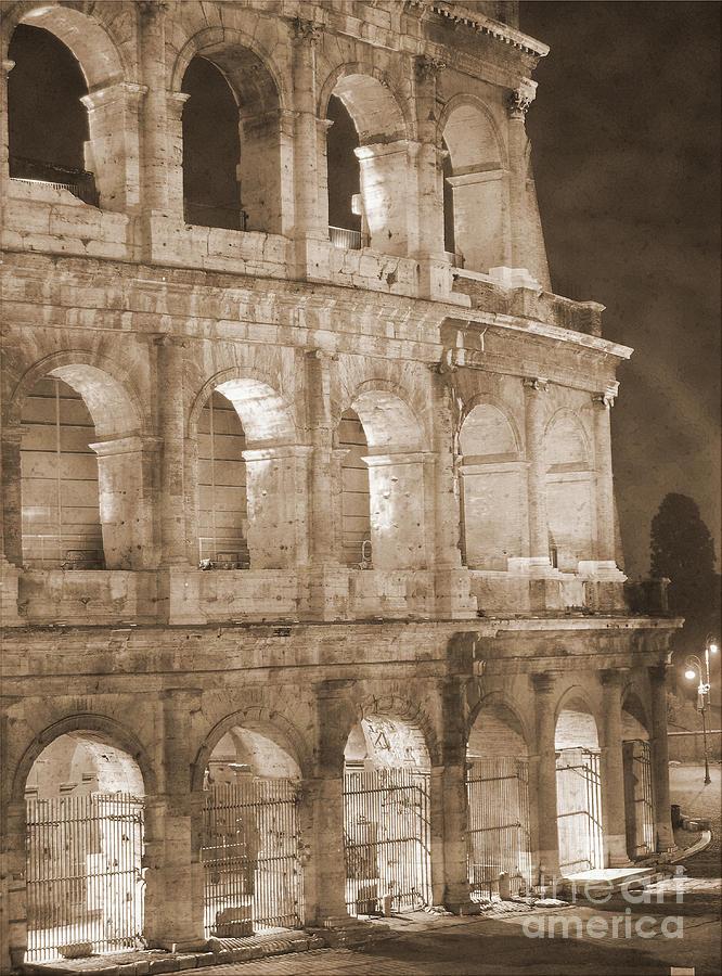 Colosseum Photograph - Colosseum by Stefano Senise