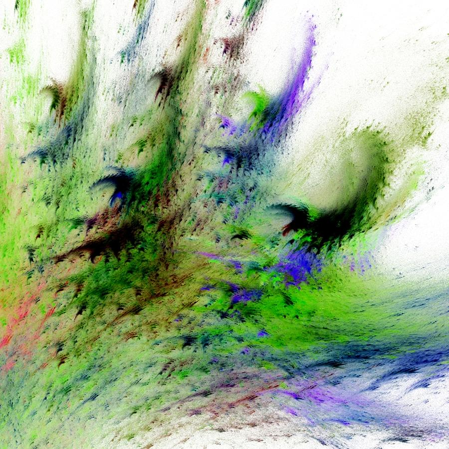 Nature Digital Art - Colours Of Nature by Sharon Lisa Clarke