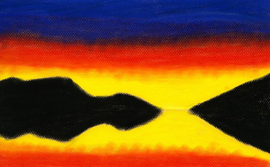 Landscape Painting - Colours Of Sky 2 by Hakon Soreide