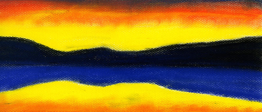 Hakon Painting - Colours Of Sky by Hakon Soreide