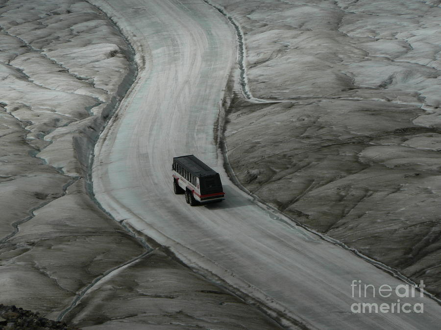 Columbia Photograph - Columbia Icefield Glacier Adventure by Laurel Best