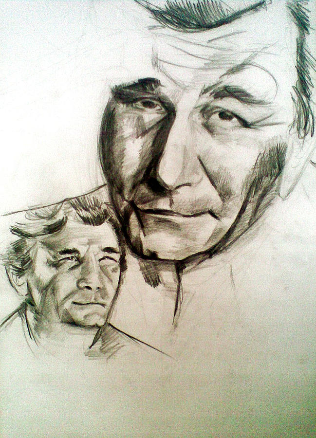 Columbo Drawing by Vaidos Mihai