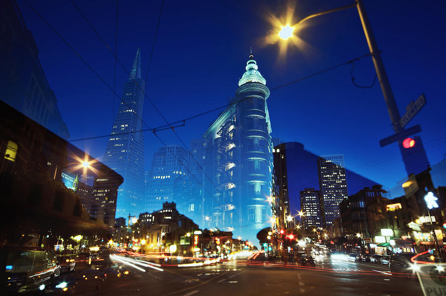 Horizontal Photograph - Columbus Street by Phoenix Wang